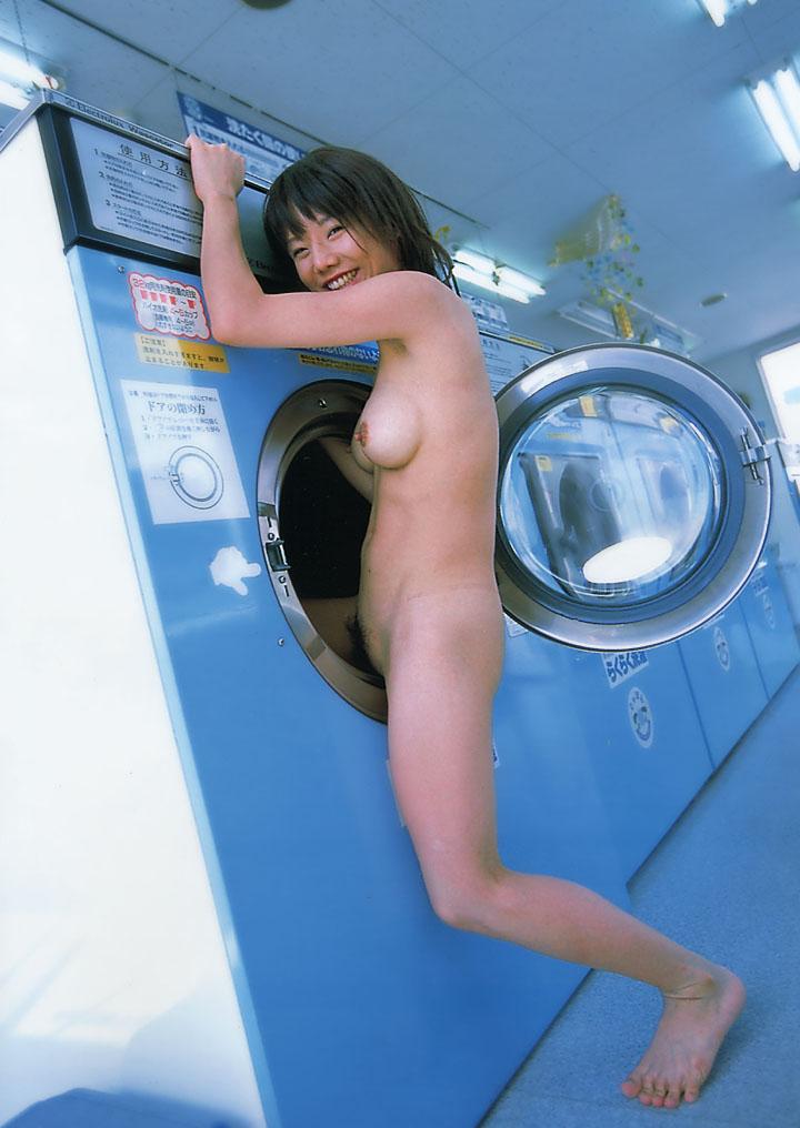 Entertaining Girl on washing machine nude amusing phrase
