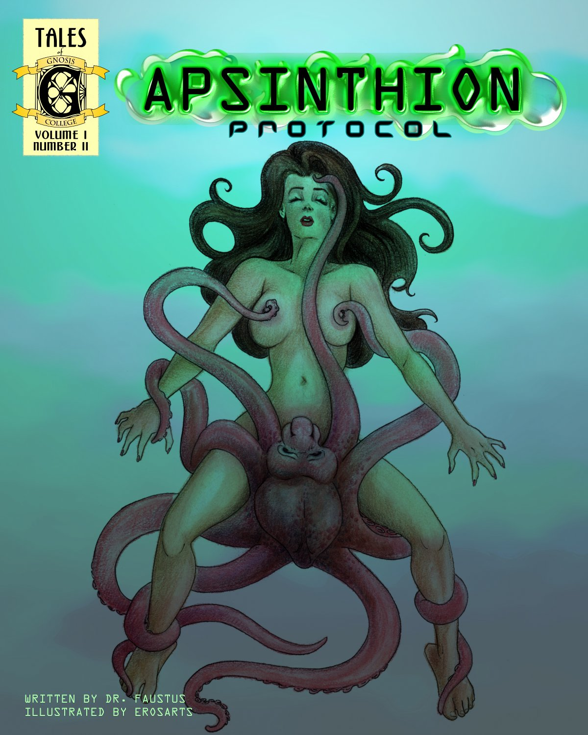 Cover for Chapter Two of Apsinthion Protocol Erotic Comic