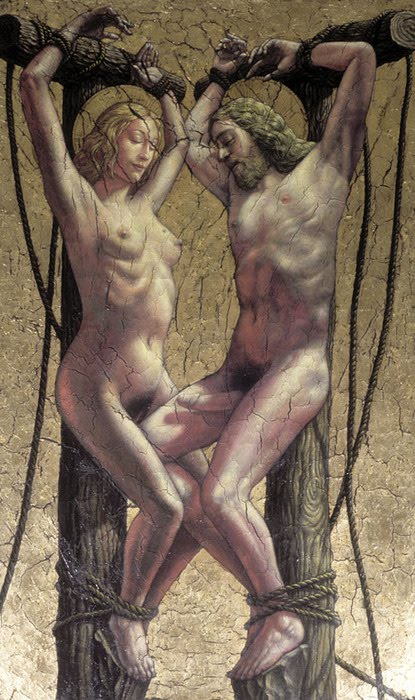 Crucifixion erotic picture