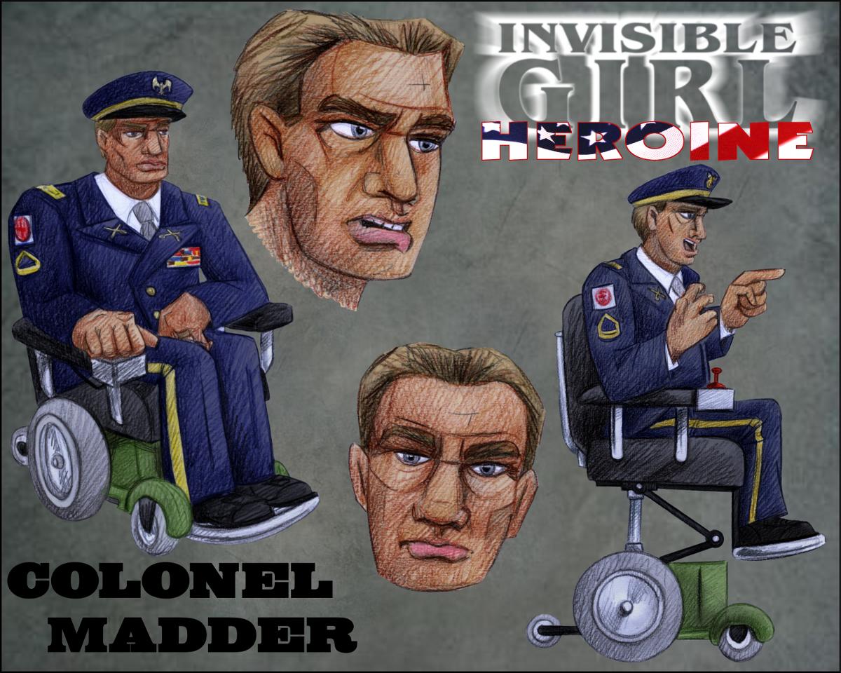A mad colonel