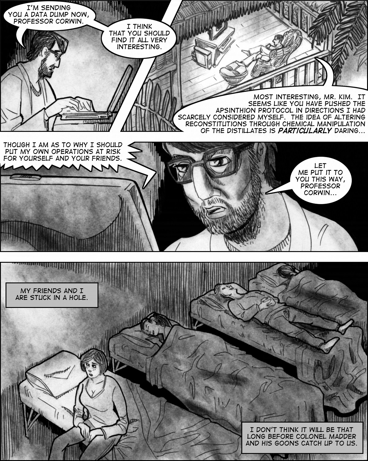 Commencement:  Chapter Five, Page One