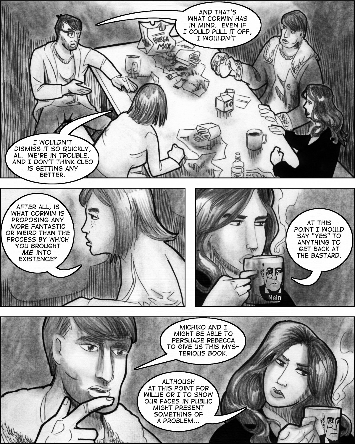 Commencement:  Chapter Five, Page Nine