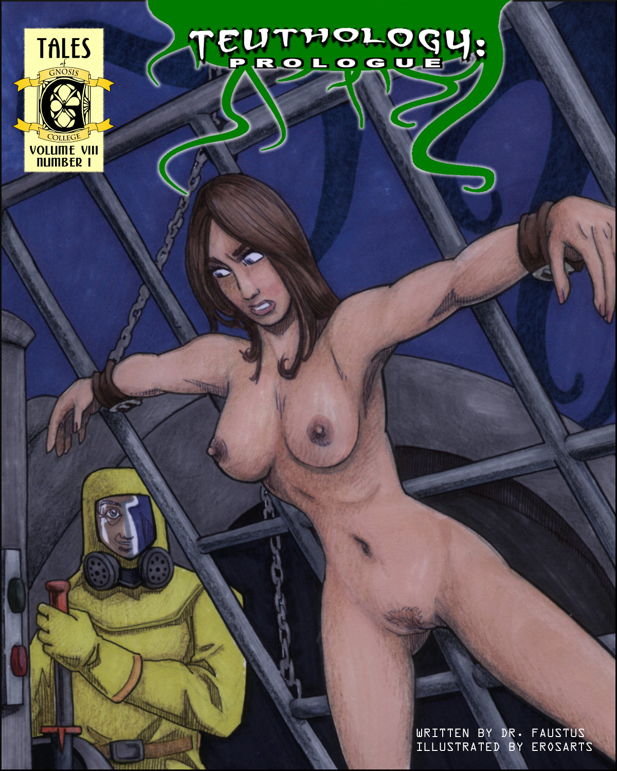 Edith Sterling is bound to a grid and shot full of radiation for the sake of undergoing a most unnatural transformation.