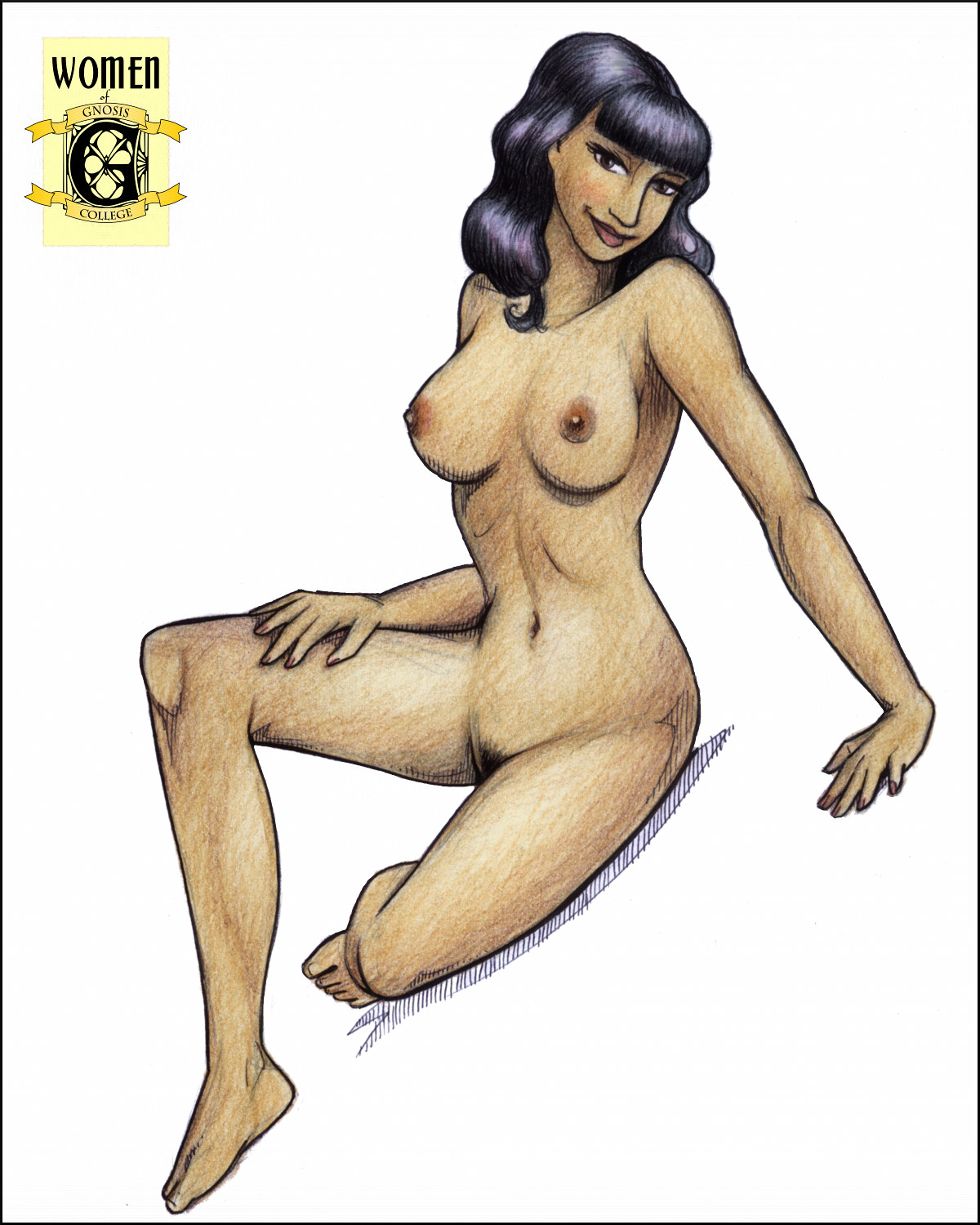 Gnosis Transformations:  Chapter Eight, Pin-up
