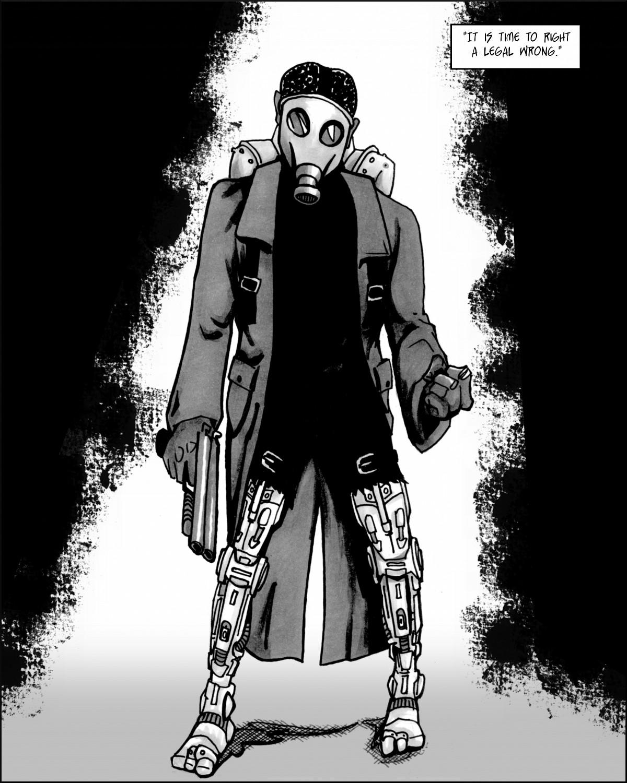 Cyborg Vernon Jackson, Mark I