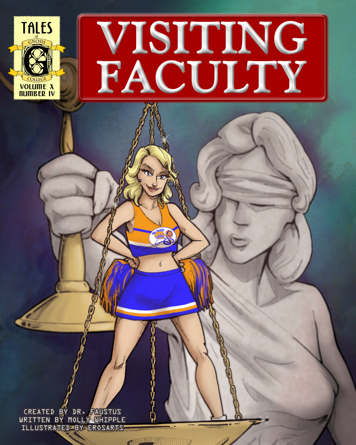 Time for cheerleader heroics at Gnosis College