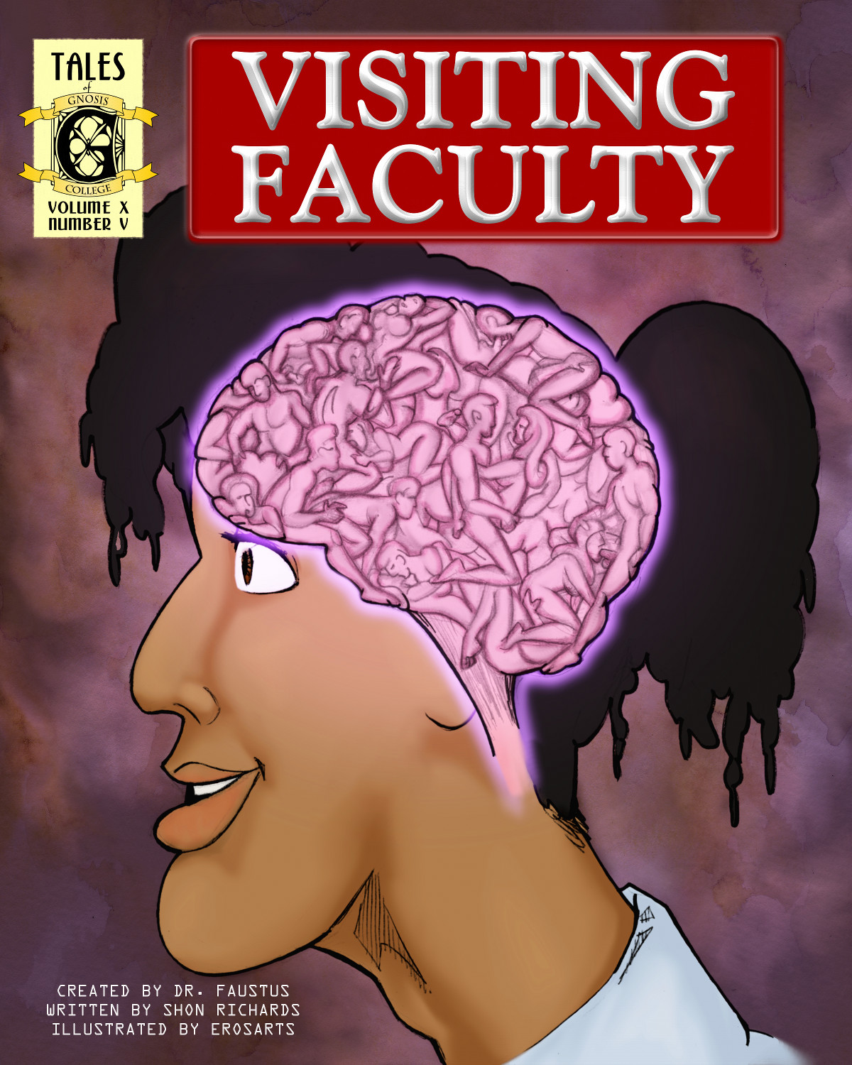 Visiting Faculty:  Chapter Five, Cover