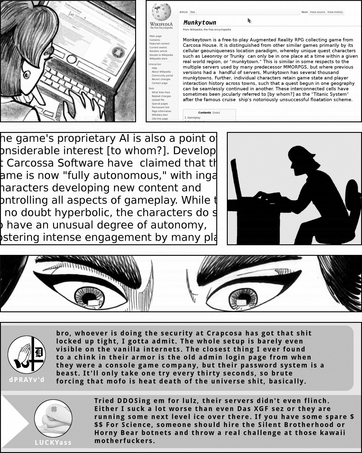 I don't know about you, but I think the idea of 'Carcossa Software' sounds sort of ominous.