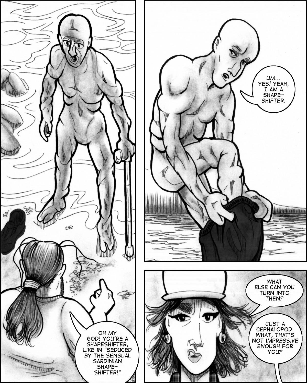 John Smith gets himself all humanoid again.