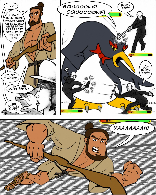 Viz: super warrior.