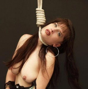 Autoerotic asphyxiation self bondage