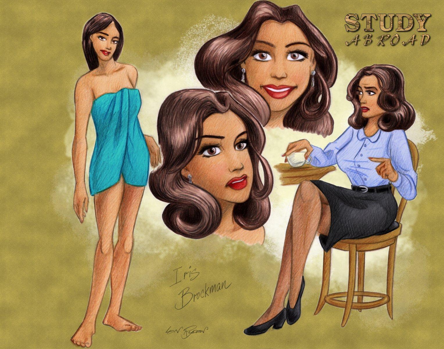 Lon Ryden's Iris Brockman design