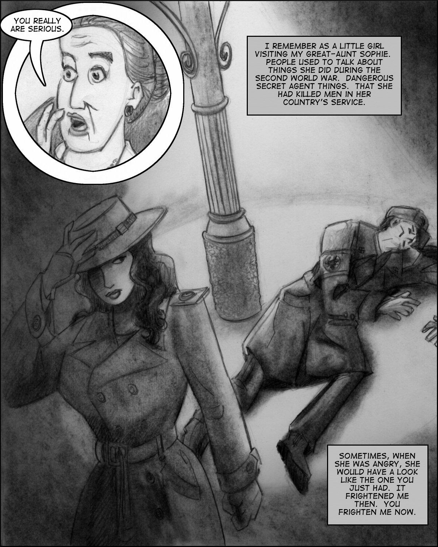 Kirschbaum recalls her deadly dangerous Great-Aunt Sophie.
