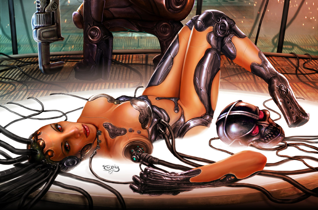Android Girl 3D Porn Hentai cyborg girl | erotic mad science | page 2