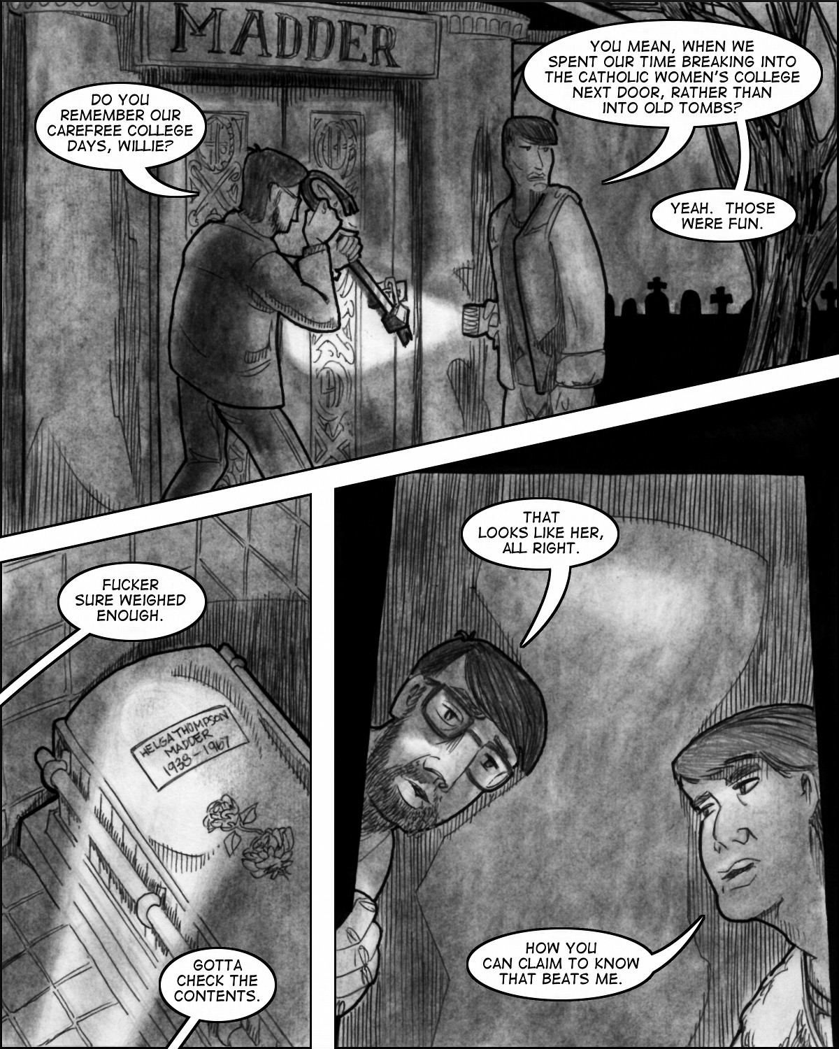 Commencement:  Chapter Five, Page Twelve