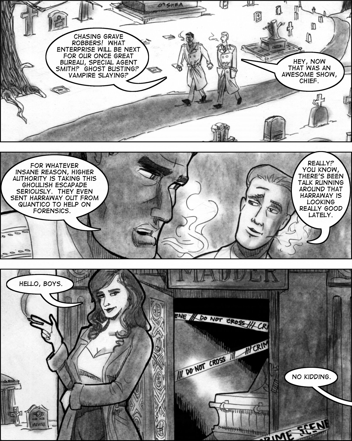 Commencement: Chapter Five, Page Fourteen