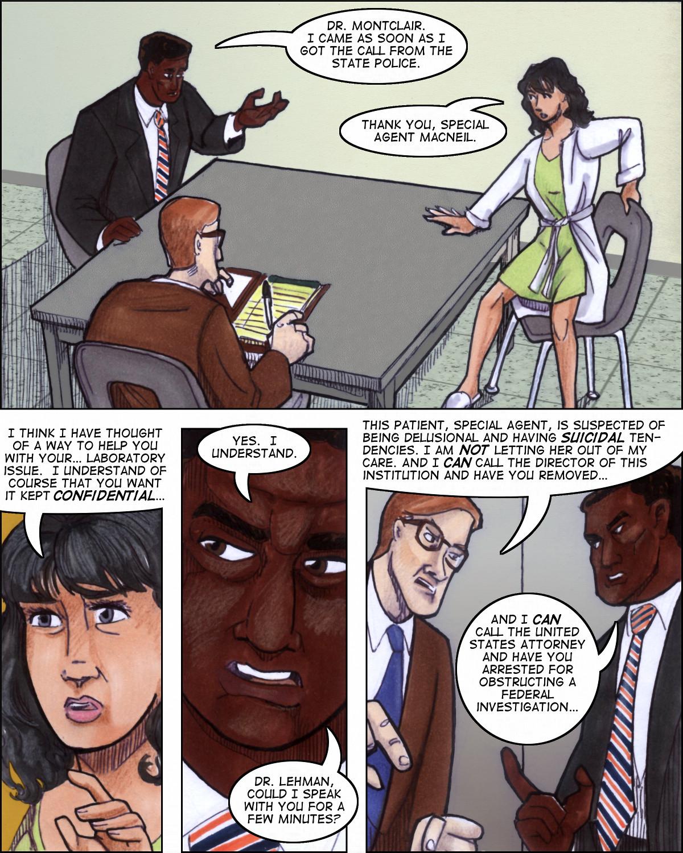 Psychiatrist vs. cop smackdown!