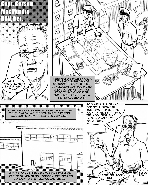 Captain MacMurdie explains the mechanics of a bureaucratic fuckup.