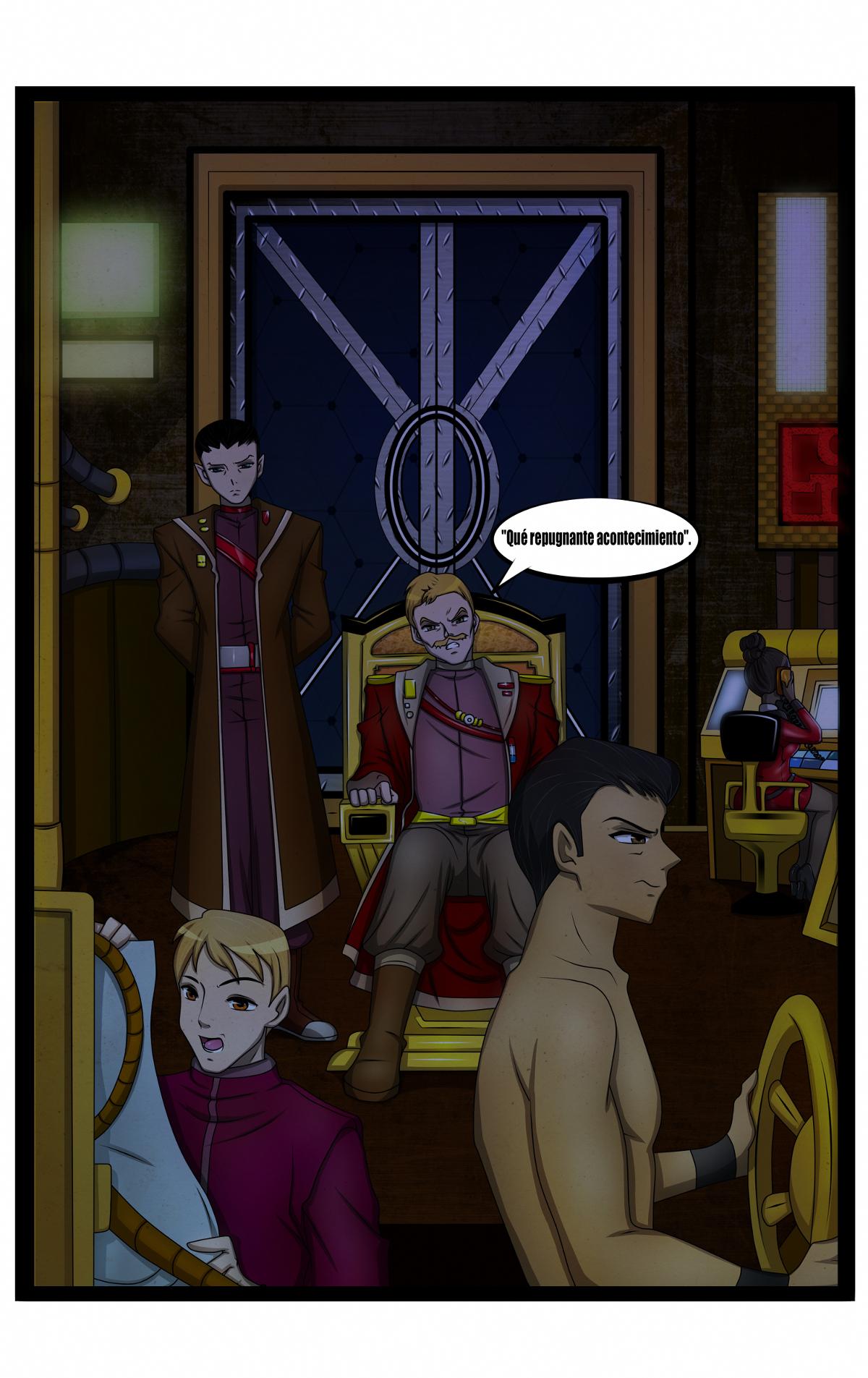 La tripulación del Erectus tiene razón para estar preocupada.