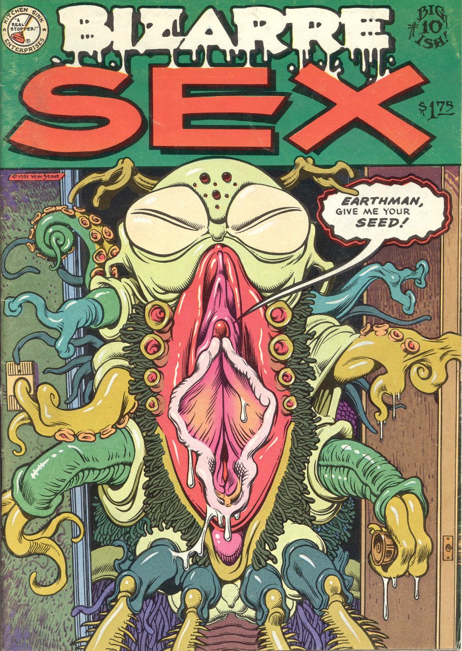 Bizarre Sex 10 cover