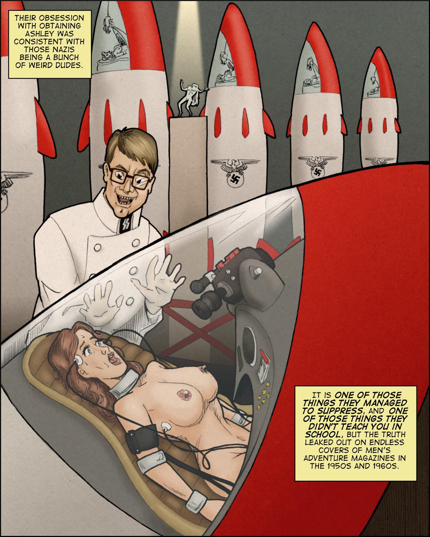 The Girl-Orgasm warheads of the sinister Dr. Werner von Shtupp.