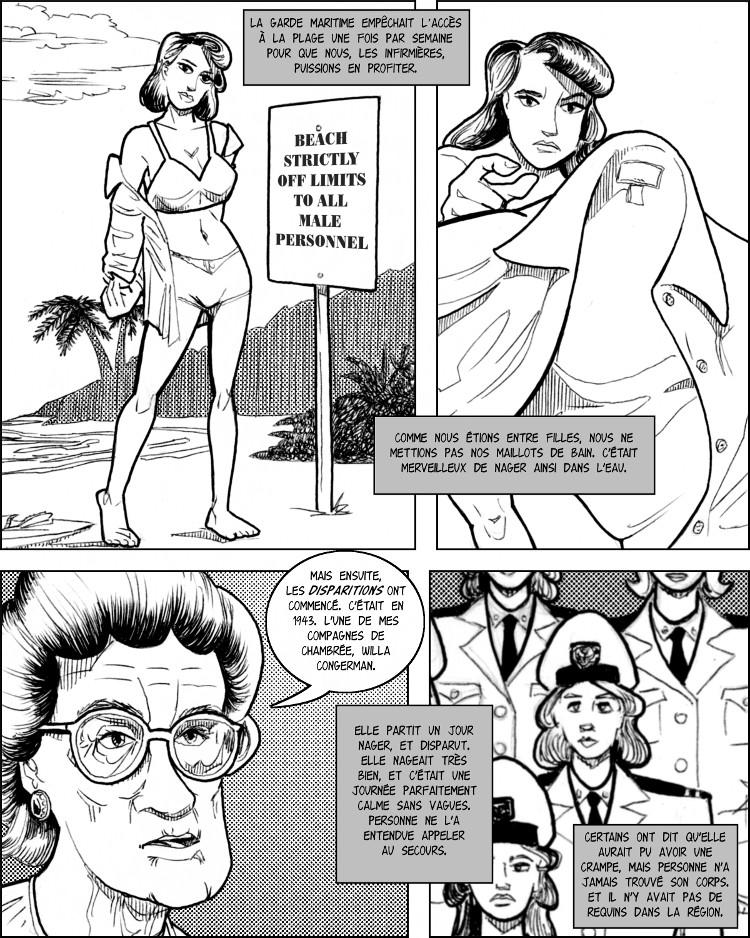 La Marine a organisé une séance de natation pour les infirmières sexy.