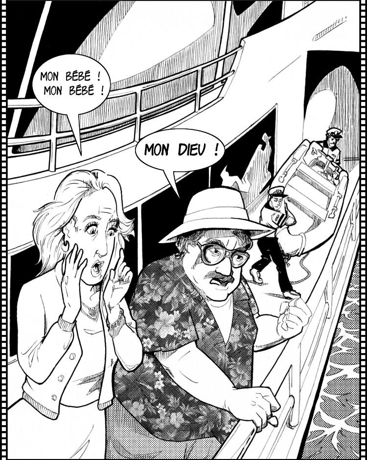 Panique sur le yacht!