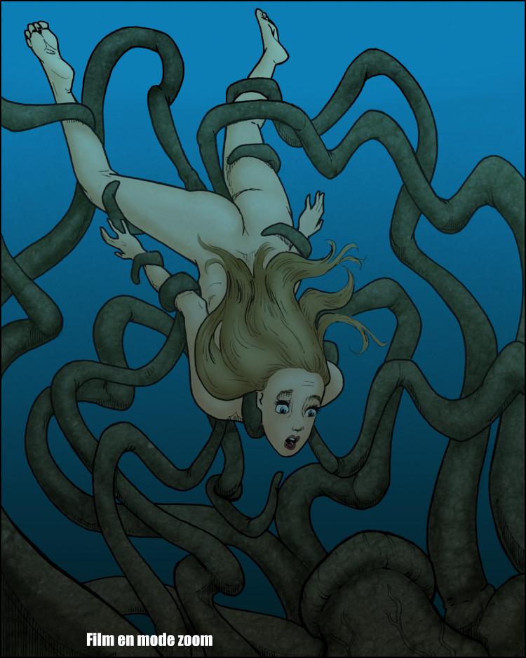 Un moment de peur, l'une des derniers de Claudia.