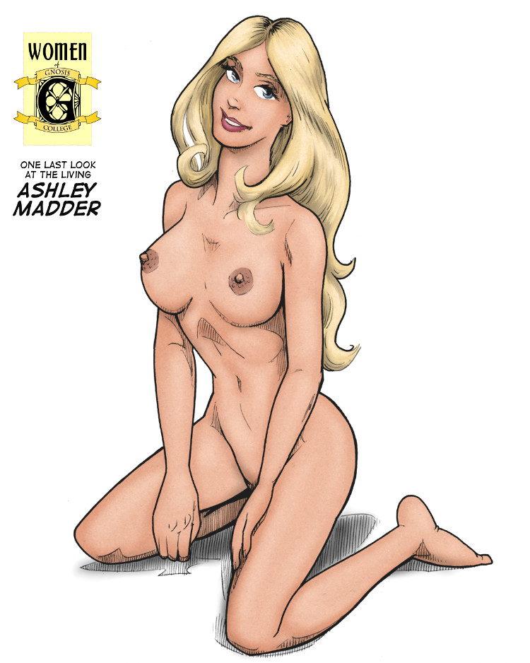 Pinup:  One last look at the living Ashley Madder.
