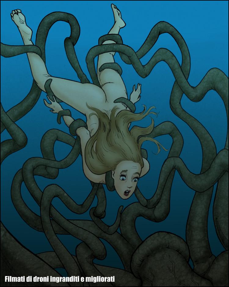 Un momento di paura, uno degli ultimi di Claudia.