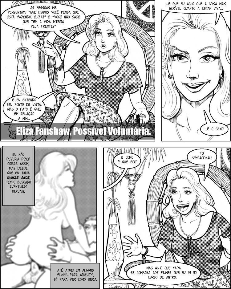 Eliza Fanshaw adora uma coisa acima de qualquer outra: sexo!