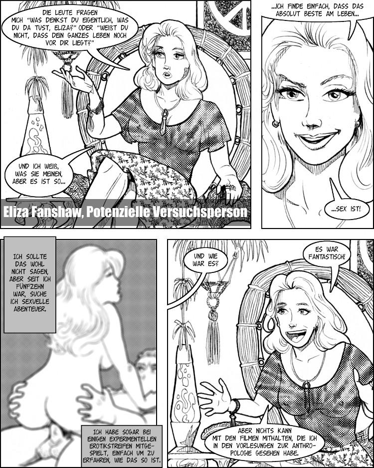 Eliza Fanshaw liebt eine Sache mehr als jede andere, und das ist Sex!