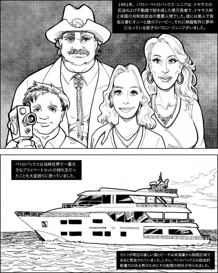 バロン・ペトロバックスには美しい妻と娘がおり、相応以上に財産があった。