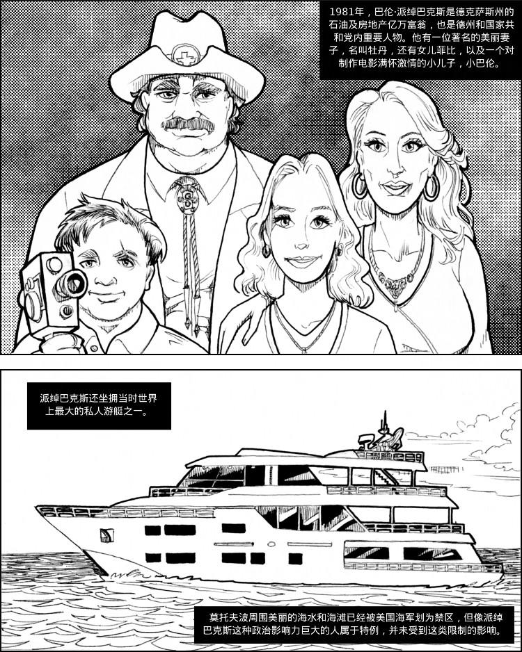 巴伦·派绰巴克斯有一个美丽的妻子和女儿,还有用不完的钱。