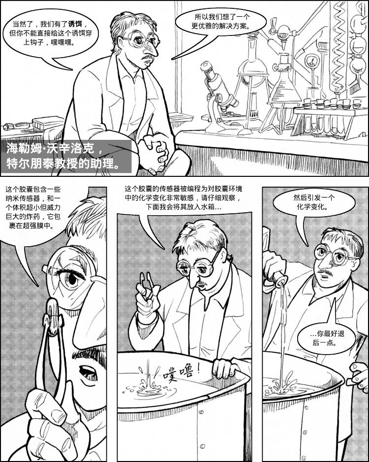 海勒姆·沃辛洛克的神奇爆炸胶囊。