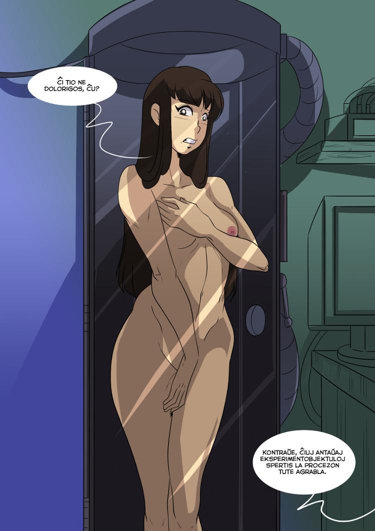 Enfermiĝita en tubo, Yuko demandas sin ĉu likviĝi doloros.