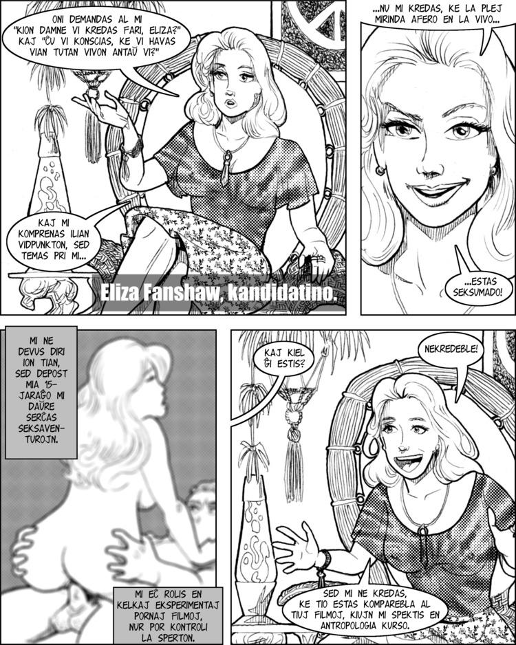 Eliza Fanshaw ŝatas ion pli ol kio ajn - kaj tio estas seksumado!