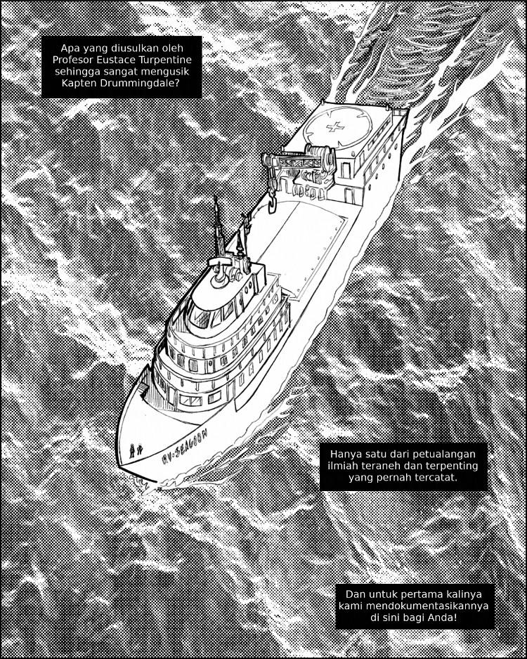 RV Seagoon mengarungi lautan yang tidak menentuk dalam misi yang aneh.