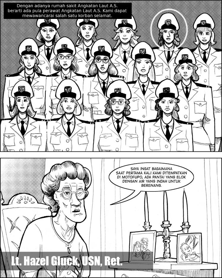 Pangkalan Angkatan Laut AS berarti perawat Angkatan Laut AS yang cantik.