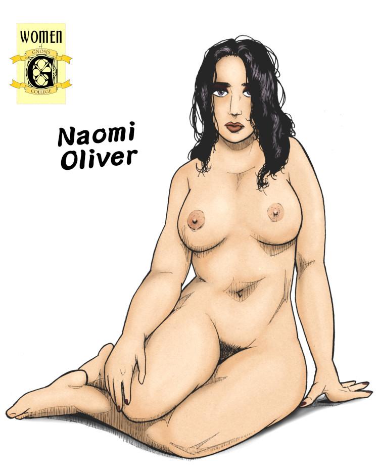 Pinup of Naomi Oliver
