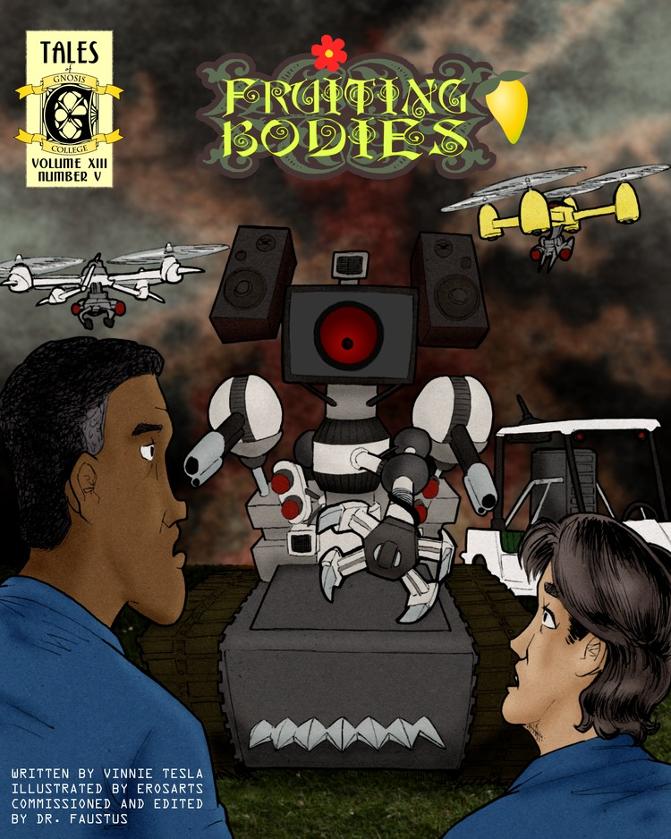 Martha, Vasquez, and DeVries confront the Robot Uprising.