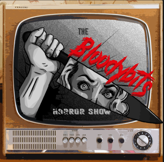 Promotional image for Eddie the Axe Jefferson's podcast The Bloodybits Horror Show.